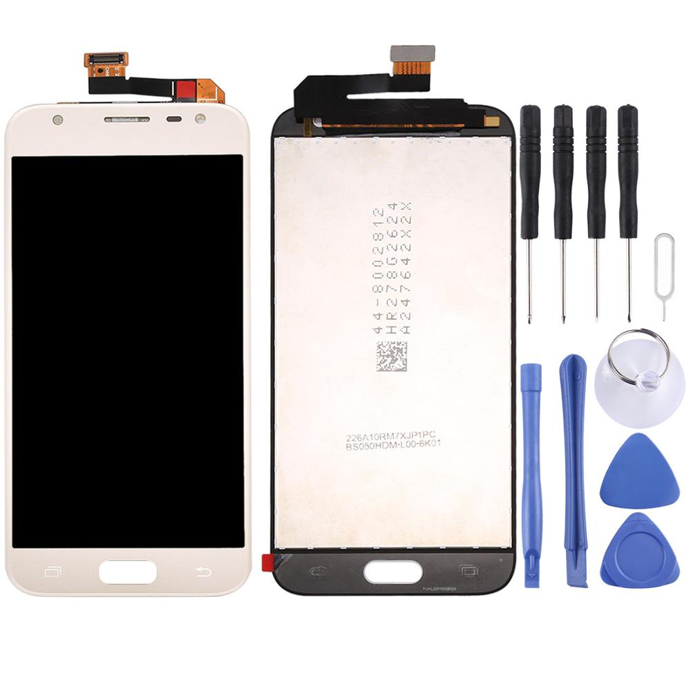 Replacement LCD Display for <font><b>Samsung</b></font> <font><b>Galaxy</b></font> <font><b>J3</b></font> (<font><b>2017</b></font>) / <font><b>J330F</b></font>/<font><b>DS</b></font>, J330G/<font><b>DS</b></font> LCD <font><b>Screen</b></font> and Digitizer Full Assembly image