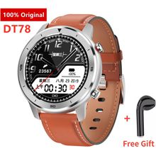 DT78 Smart Watch Men Women Smartwatch Bracelet Fitness Activity Tracker Wearable Devices Waterproof For Android IOS PK L11 L8 color touch screen smartwatch motion detection smart watch sport fitness men women waterproof wearable devices for ios android