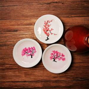 Teacup Ceramic Flower-Display Sakura-Cup Color-Changing Magic Japanese Kung-Fu Cold-Temperature