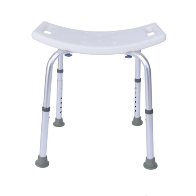 Aid Seat Without Back Chair Height Adjustable Non Slip Toilet Seat Disabled Home Adult Elderly Pregnancy Kids Bath Shower Stool 1