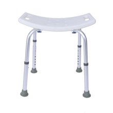 Aid Seat Without Back Chair Height Adjustable Non Slip Toilet Seat Disabled Home Adult Elderly Pregnancy Kids Bath Shower Stool cheap CN(Origin) Metal Aluminum
