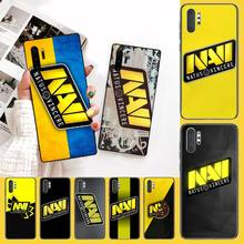 PENGHUWAN Natus Vincere navi Cover Black Soft Shell Phone Case for Samsung Note 3 4 5 7 8 9 10 pro M10 20 30