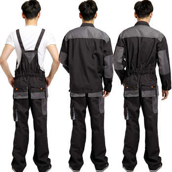 Men Bib Working Overalls Male Work Wear uniforms Fashion Tooling Overalls Worker Repairman Strap Jumpsuits