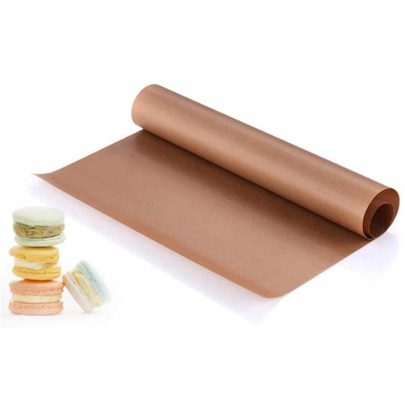 テフロン熱プレスパッド再利用可能な天マット非スティッククラフトシート熱きれいに簡単に耐性バーベキューグリル & ベーキングマットマカロン