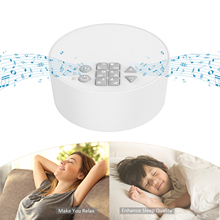 USB Rechargeable Kids Noise Machine Monitors Noise Sound Machine Timed Baby Sleeping Monitors Baby Noise Machine White Noise Toy