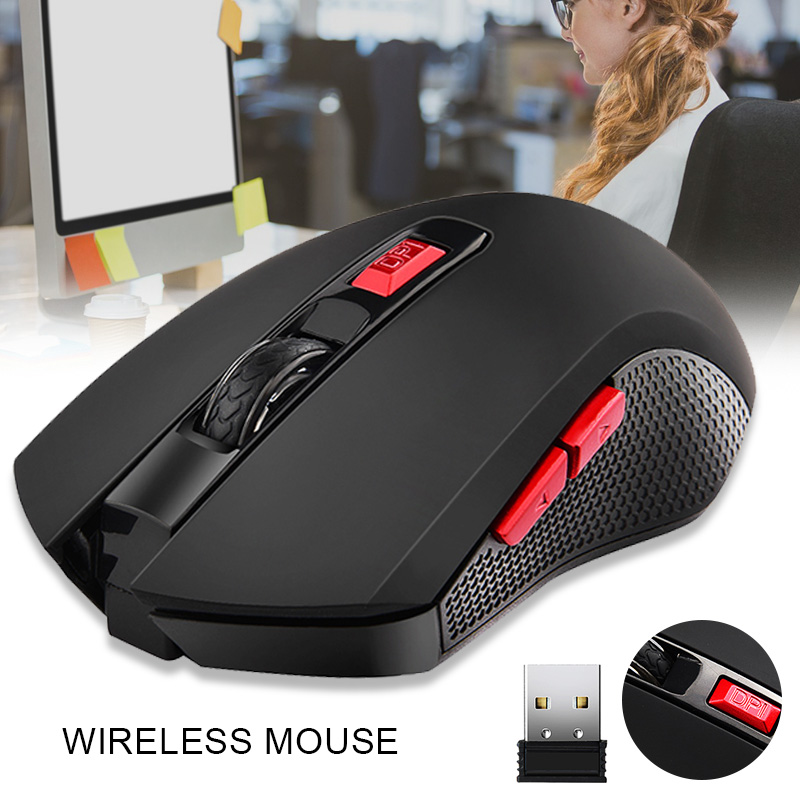 G821 Wireless Optical Gaming Mouse 2.4G Wireless Mini Ergonomic Mouse H-best