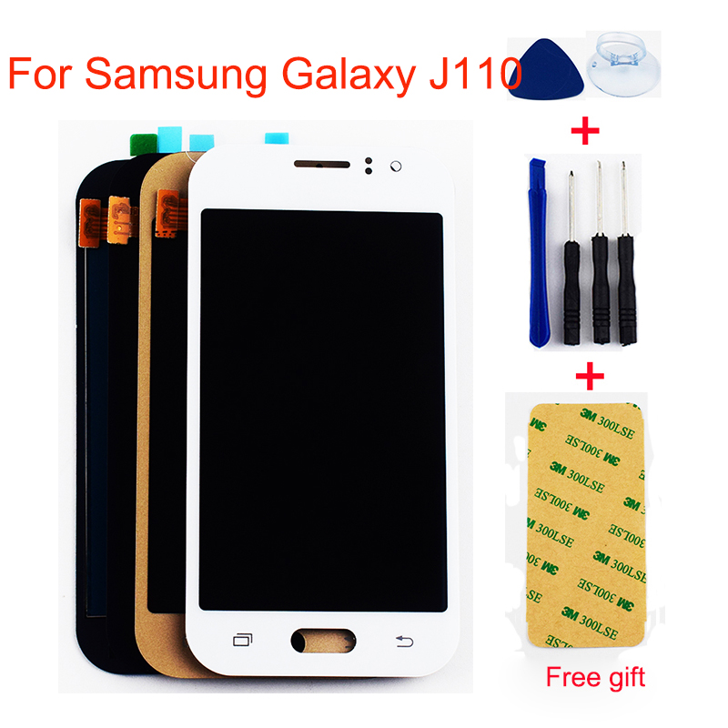 For <font><b>Samsung</b></font> Galaxy <font><b>J1</b></font> <font><b>Ace</b></font> <font><b>LCD</b></font> Screen J110 J110F J110H J110FM J111/F J111M J111FN <font><b>LCD</b></font> Display Panel Touch Screen Assembly image