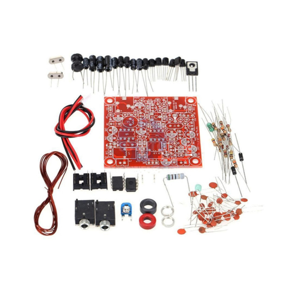 Transceptor de Radio de Forty-9er de 3W, Kit Diy de piezas para QRP, Ham, CW, receptor de telémetro de onda corta, transmisor de Radio de 7.023MHz