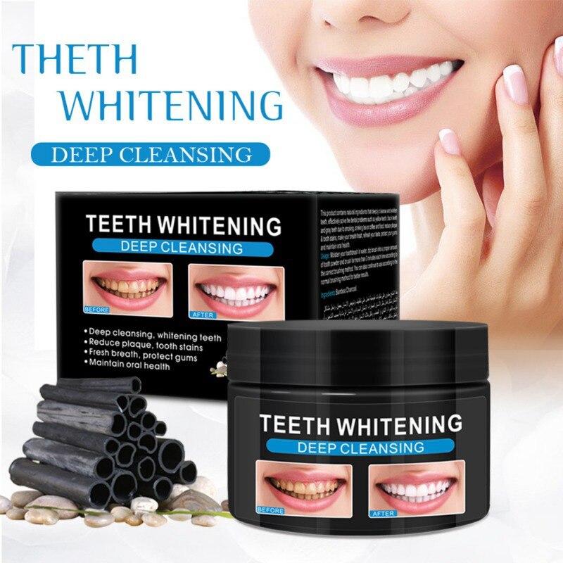 Бамбуковый уголь зубной порошок удалить от зубных пятен зубной налет активированный уголь зубы стиральный порошок