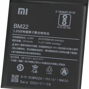 Image 4 - מקורי החלפת סוללה עבור XiaoMi 5 Mi5 M5 ראש BM22 אמיתי טלפון סוללה 3000mAh