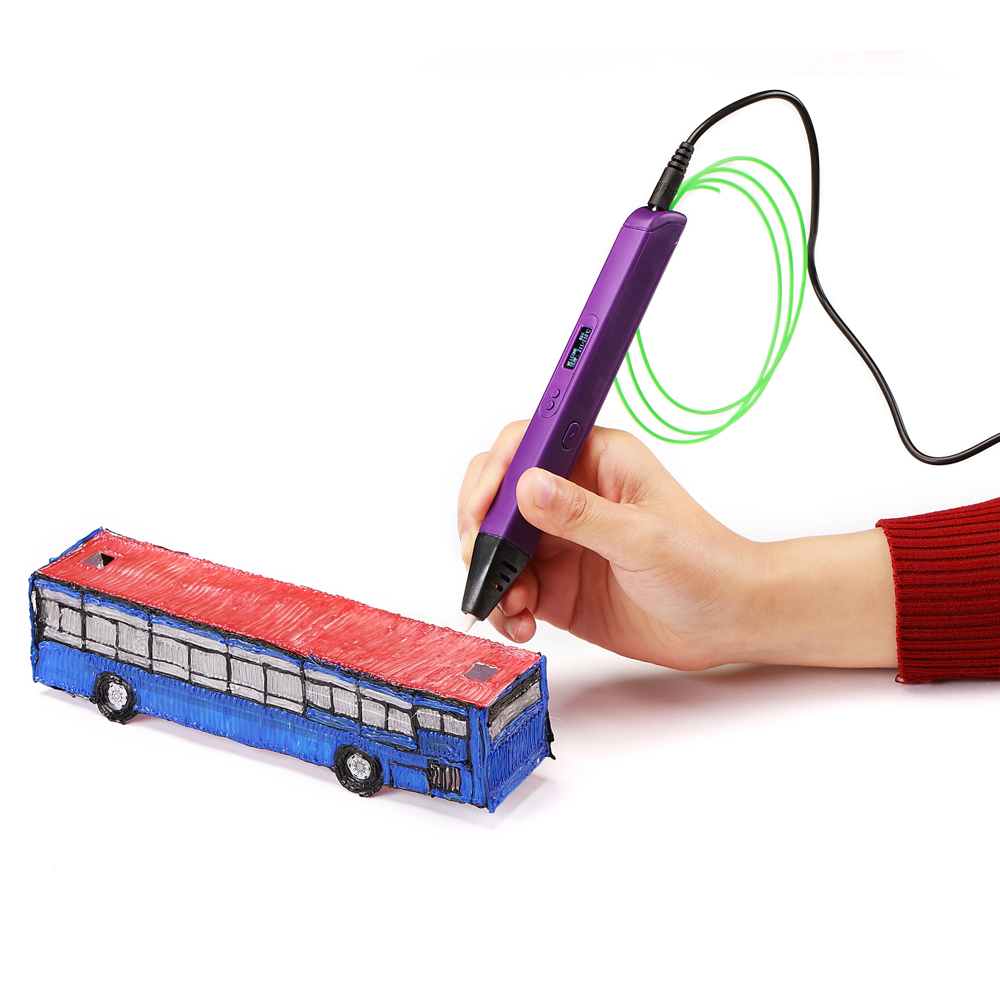 lowest price lihuachen RP800A  3D Printing Pen For Kids 3D Drawing Pen Painting Toy Applicable ABS   PLA Filament  Material