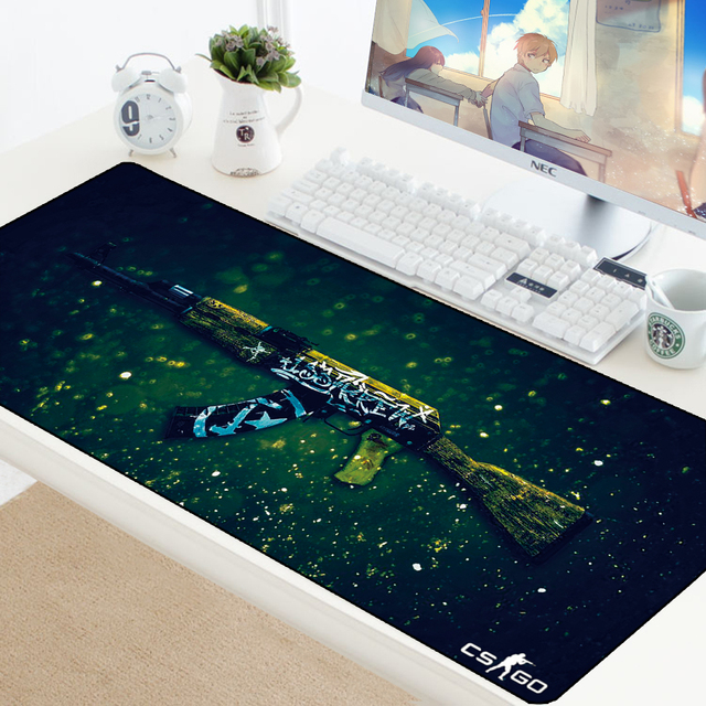 CSGO tapis de souris contre grève jeu tapis de souris en caoutchouc naturel Gamer tapis de souris XL Gamer ordinateur PC bureau protecteur tapis pour LOL