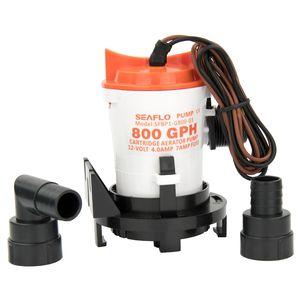 Image 1 - 12v 800GPH deniz sintine pompası tekne sintine su pompası yan montaj süzgeç tabanı