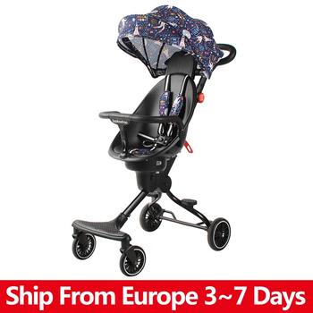 Wysoki krajobraz składany wózek dziecięcy lekki przenośny wózek podróżny wózek dziecięcy noworodek dziecięcy wózek nosidło wózek dziecięcy tanie i dobre opinie copsean CN (pochodzenie) 0-3 M 4-6 M 7-9 M 10-12 M 13-18 M 19-24 M 2-3Y 4-6y 30KG Numer certyfikatu Folding Baby Stroller