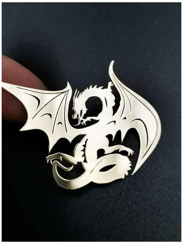 Dragon 3d Emblem Chrome