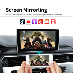 Image 3 - LoadKey אלחוטי Carplay מפענח עבור אאודי A4 A5 S5 Q5 ללא MMI 09 18 רכב מולטימדיה לרכב לשחק אפל Carplay/אנדרואיד אוטומטי Airplay