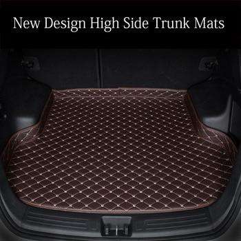 Custom fit car trunk mats for Lexus NX 200 200T 300h NT200 NX200T NX300H F Sport RX waterproof car-styling leather carpet rugs