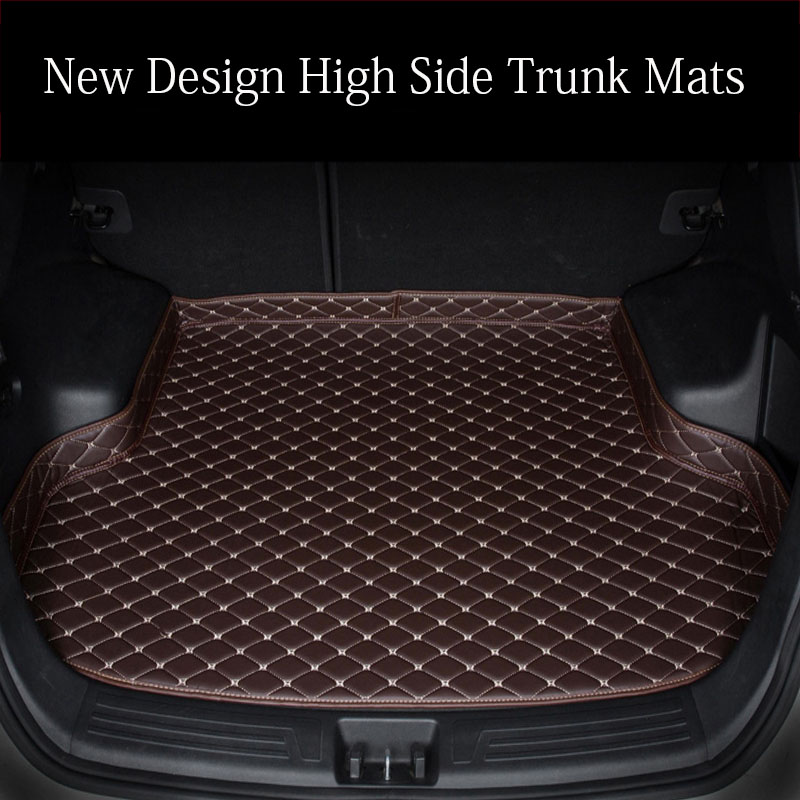 Custom fit car trunk mats for <font><b>Lexus</b></font> <font><b>NX</b></font> 200 200T <font><b>300h</b></font> NT200 NX200T NX300H <font><b>F</b></font> <font><b>Sport</b></font> RX waterproof car-styling leather carpet rugs image