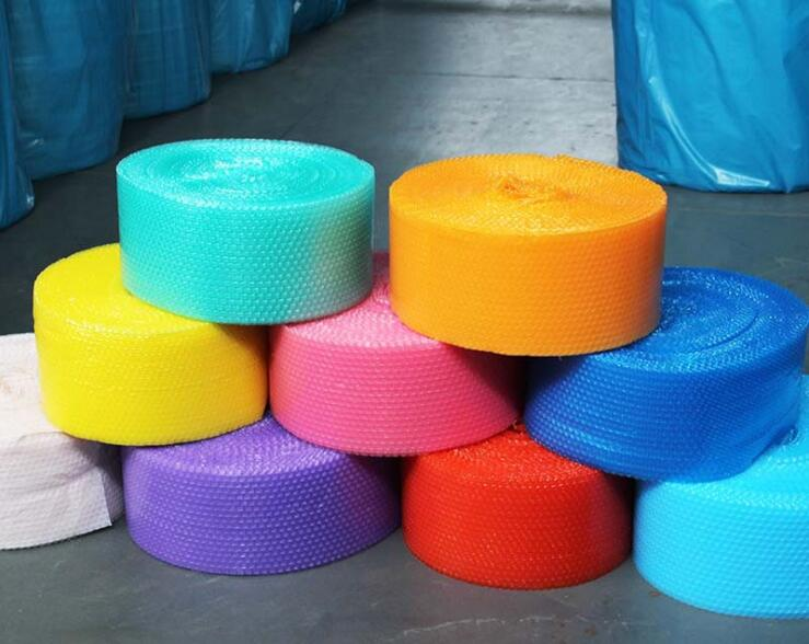 20cm Wide 20M Thick Air Cushion Film Air Cushion Bubble Roll Air Cushion Packaging Lovely Heart Shape