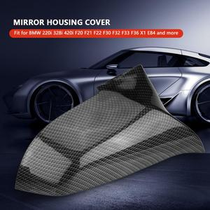 Image 2 - 1 Pair ABS Plastic Rearview Mirror Cover Cap for BMW 220i 328i 420i F20 F21 F22 F30 F32 F33 F36 X1 E84