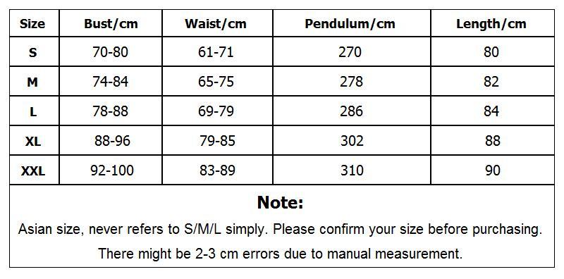 92009 APP端尺码表 SML未更新