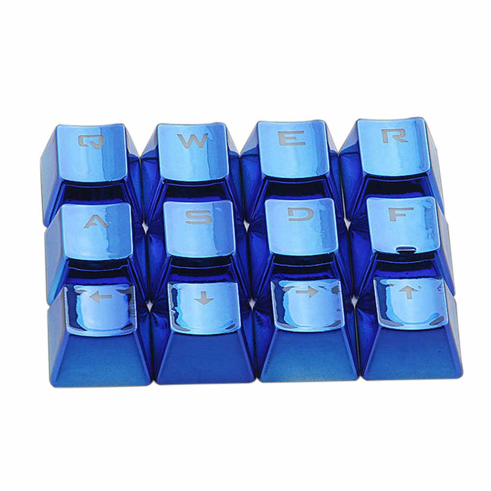 12 個除去ゴールド防水キーキャップ USB バックライトオフィス低プロファイルユニバーサルメカニカルキーボードゲーム交換