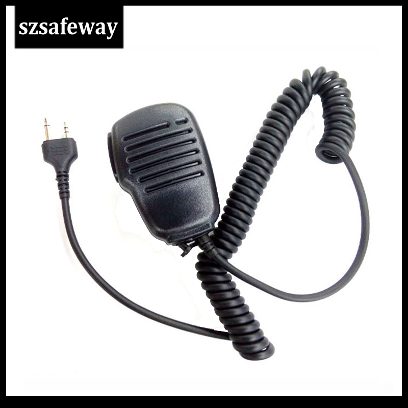 Handheld Shoulder Speaker MIC For MIDLAND Walkie Talkie G6/G7/G8/G9 GXT550 GXT650 LXT80 Free Shipping