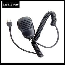 Handheld Shoulder Speaker MIC For MIDLAND Walkie Talkie G6/G7/G8/G9 GXT550 GXT650 LXT80