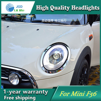 Car Styling Head Lamp case for mini F65 Headlight 2014 Sentra LED Headlight DRL H7 D2H Hid Option Bi Xenon Beam