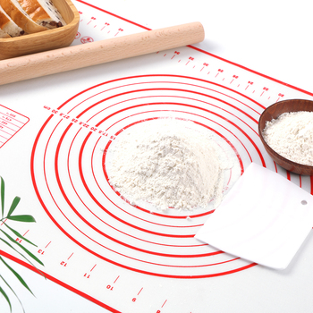 Silicone Baking Mat Pizza Dough Maker Pastry Kitchen Gadgets Cooking Tools Utensils Bakeware Kneading Accessories Lot 1