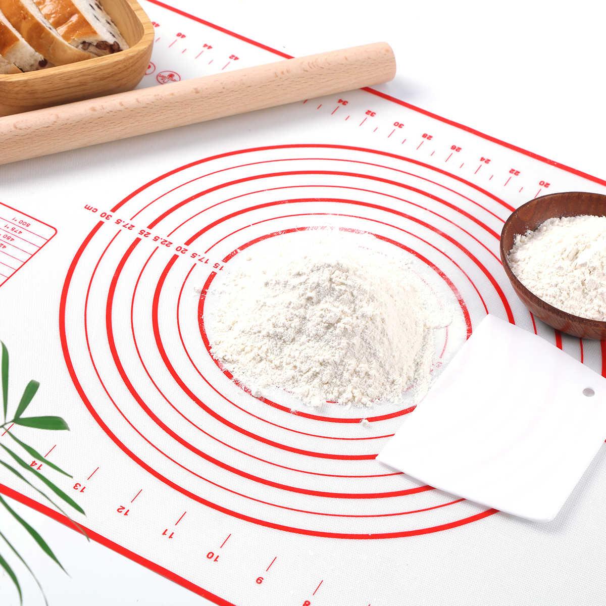 Khuôn Nướng Bánh Silicon Thảm Pizza Bột Làm Bánh Ngọt Vật Dụng Nhà Bếp Nấu Ăn Dụng Cụ Úp Máy Nướng Nhào Phụ Kiện Rất Nhiều