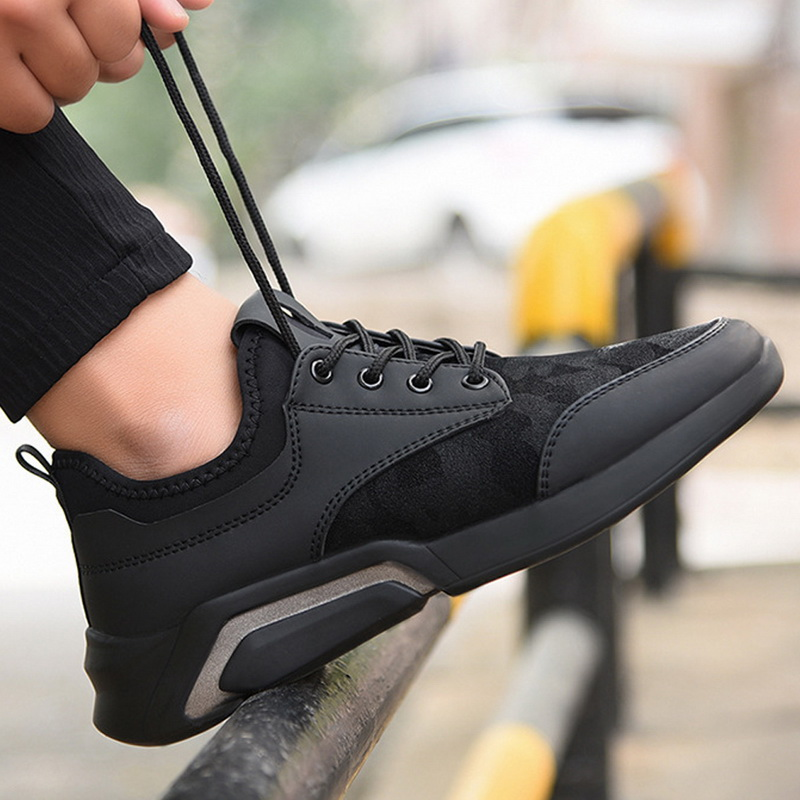 Promo Dihope 2020 New Classics Casual Men Walking Shoes Lace Up Men Casual Shoes Outdoor Jogging Sneakers Comfortable Soft Size 44