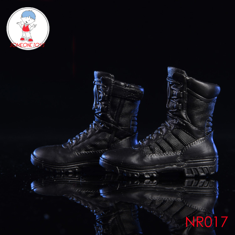NRTOYS 1/6 NR017 Male Combat Boots Hiking Shoes For Military Soldier Action Figure