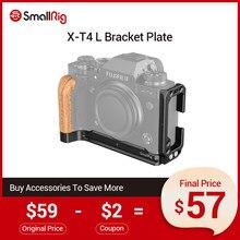 Smallrig X-T4 l placa de suporte para fujifilm X-T4 arca-swiss standard liberação rápida l em forma de placa de montagem-2811