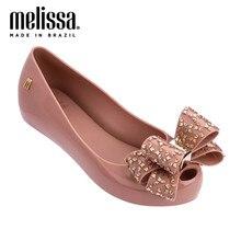 Melissa Sandalias de goma de mujer, zapatos antideslizantes, transpirables, talla 35 39, para verano