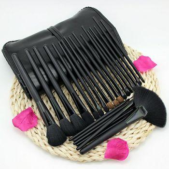 24PCS Professional Make-Up Brushes Set For Eyebrows Foundation Powder Brush Eyeshadow Eyelash Brushes Cosmetics for Face