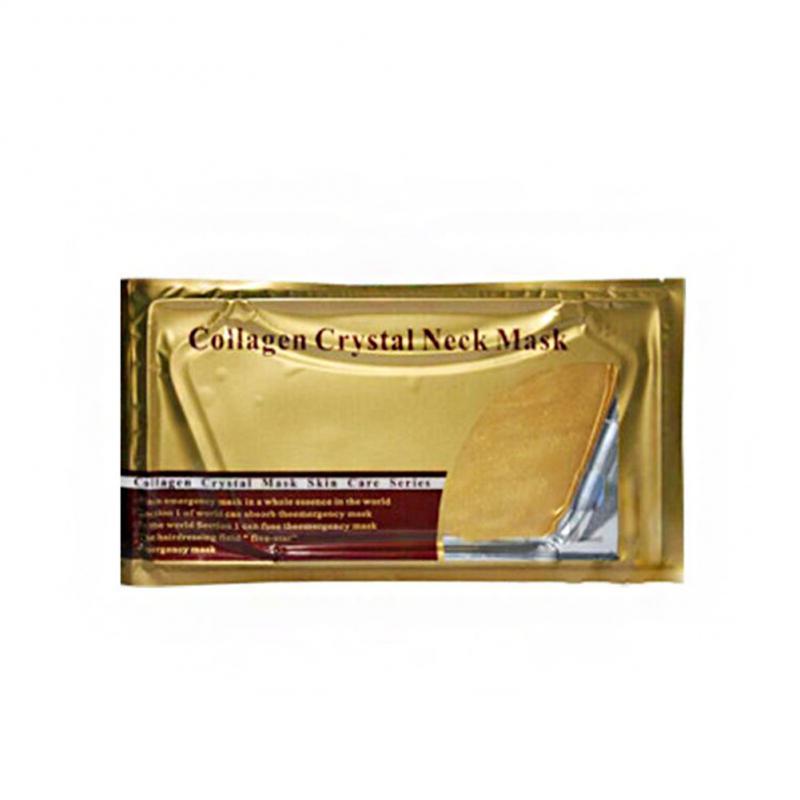 Neck Mask Crystal Collagen Gold Skin Care Firming Lasting Moisturizing Nourish Neck Film New Women TSLM1