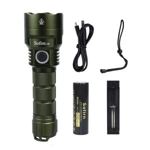 Image 3 - Sofirn C8F LED Powerful Flashlight 21700 Lantern Cree XPL 3500ml Lantern Torch With Power Indicator 18650 Flashlight Outdoor