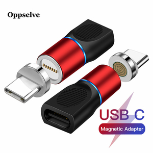 Oppselve Micro Usb Adapter Magnetic Charger Type C Convertor for iPhone 12 Xiaomi Samsung Huawei Phone Charger Cable Connector