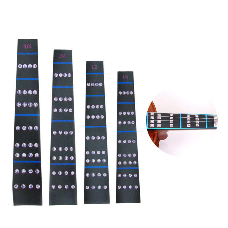 Violin Intonation Stickers Fretboard Position Marker Beginners Learning Violin Fingerboard Sticker Violin Parts Accessories
