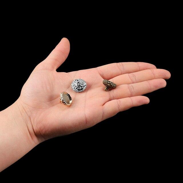 1 комплект желудь тип смолы силиконовые формы ожерелье крышка фотография
