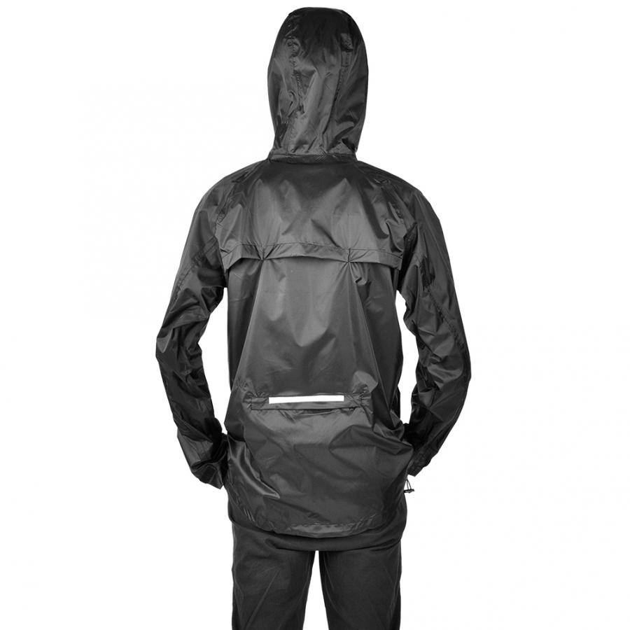 Cycling Jersey Raincoat with Reflective Strap Nylon Bicycle Bike Riding Cycling Clothes Windproof Waterproof Coat with Hood - title=
