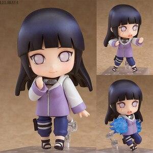 Image 1 - 10cm Mini Cute Anime Character Naruto Shippuden 879 Hinata Hyuga Changeable Ver. PVC Action Figure Collection Model Cartoon Toys