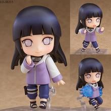 10cm Mini personnage danime mignon Naruto Shippuden 879 Hinata Hyuga modifiable Ver. Jouets de dessin animé de modèle de Collection de figurine daction de PVC