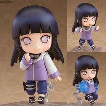 Mini Personaje de Anime de 10cm, Naruto Shippuden 879, Hinata, Hyuga, cambiable, Ver. Colección de figuras de acción en PVC, juguetes de dibujos animados