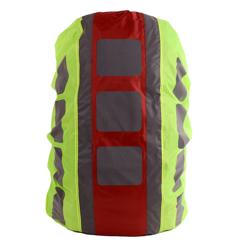 Outdoor Backpack Rain Cover Reflective Waterproof Dustproof Bag Rain Cover For Hiking Camping Hunting Rain Cycling 20-28L