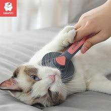 Kimpets pettine per gatti pettine per cani pettine per peli di gatto peli di cane per animali domestici pettine ad ago speciale detergente per capelli per gatti prodotti per la pulizia e la bellezza