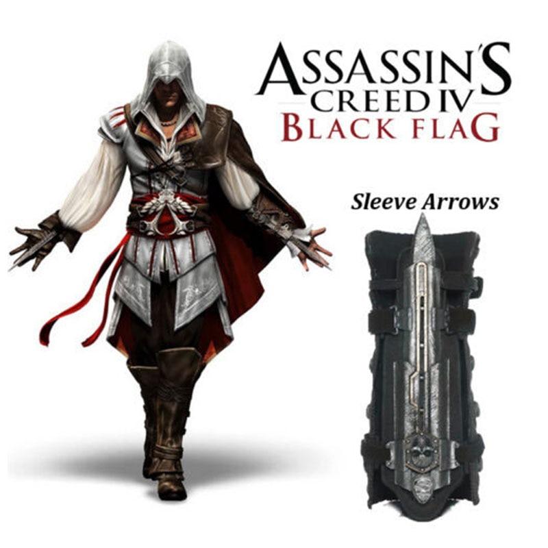 Model Toys Cosplay Assassins Creed 4 Assassins Creed Hidden Blade Replica Brinquedos Edward Kenway Juguete Assassin Creed Ezio
