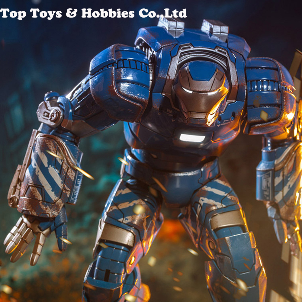 Comicave Studios 1/12 Diecast Iron Man Age Ultron Mark 38 IGOR MK38 Collectible Figure / Mk38 Display Box For Collection