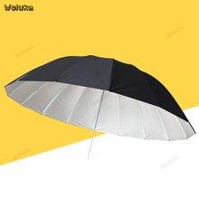 70 дюймов(180 см) параболический зонт-профессиональный белый с черным зонт-отражатель для стробоскопа Speedlight CD50 T16 RR1